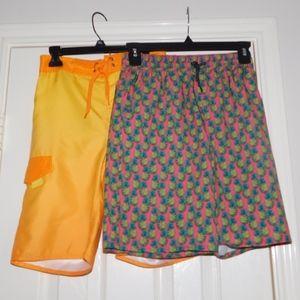 2 for $15 boys swim trunks